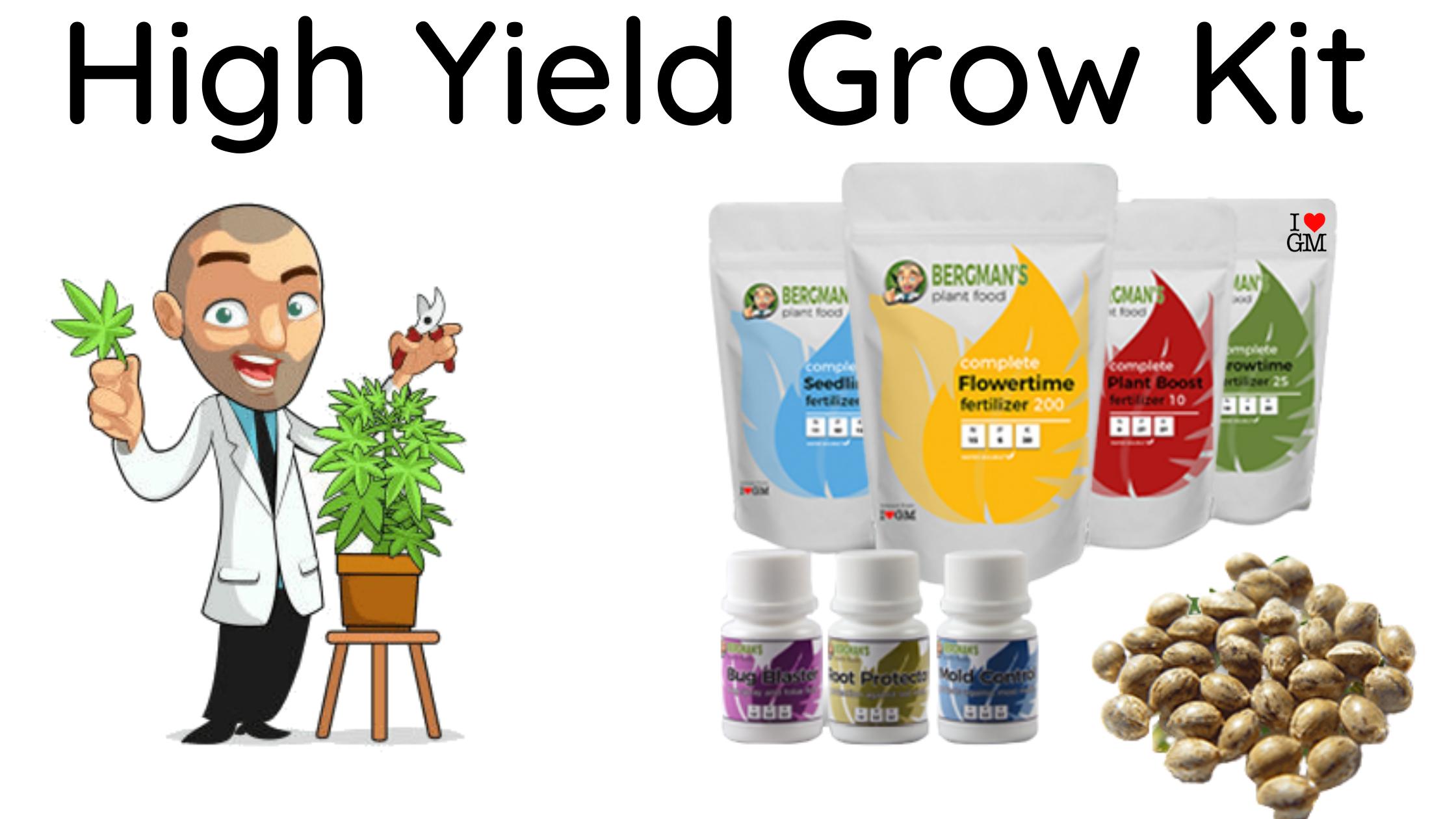 High Yield Marijuana Grow Kit
