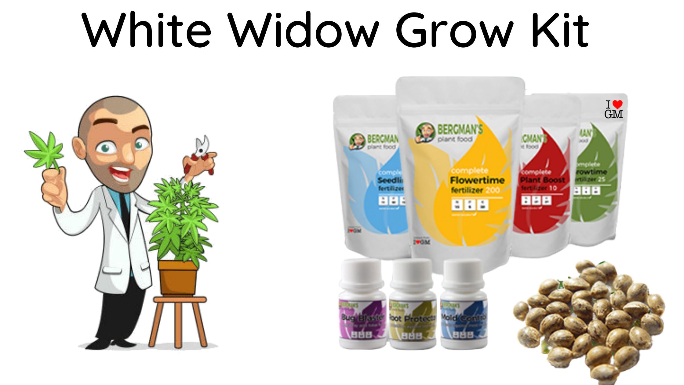 white widow grow kit